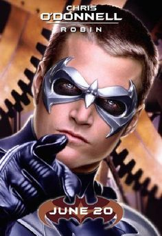 TB042. Robin / Batman & Robin / Movie Poster (1997) / #Movieposter