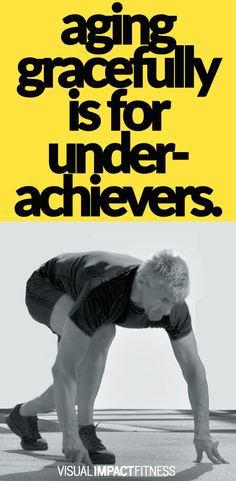Workouts for aging gracefully. For those who want to look and feel better than the majority of the people their age.