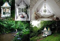 Landscaping idea for playhouse