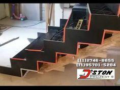 Escada agora sim ,um passo a passo de verdade vídeo 2 - YouTube