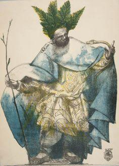 Zofia Stryjeńska, z cyklu 'Bożki słowiańskie', 1917
