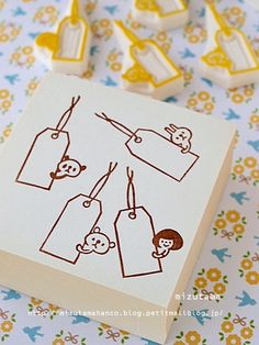 Tag stamps would be so cute to address an envelope.