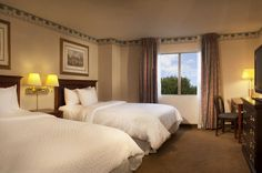 Our All Suites Hotel in Herndon, VA features One King or Two Double Beds in the bedroom of each suite.