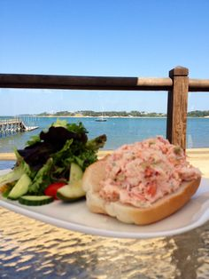 Lobster Roll at the Outer Bar and Grille Wequassett Inn, Cape Cod