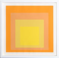 Josef Albers, Interaction of Color: Homage to the Square (Yellow)