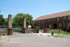Gate going into Estcourt High School