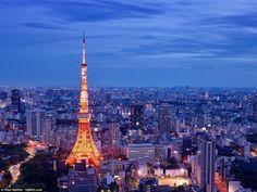 Tokyo Tower, Tóquio, Japão