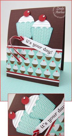 It's your day cupcake by Gail Reed