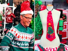 Wacky Holiday Gifts: Quirky Christmas Sweater and Ties Holiday Gift Guide, Holiday Gifts, Wacky Holidays, Top Gifts, Ugly Christmas Sweater, Ties, Seasons, Xmas Presents, Tie Dye Outfits