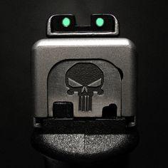 Punisher Plate & TFO Sights by ZORIN DENU, via Flickr