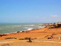 Praia de Canoa Quebrada, Ceará.