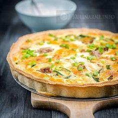 Polish Recipes, Dessert Recipes, Desserts, Baking Tips, Bon Appetit, Quiche, Good Food, Food And Drink, Favorite Recipes