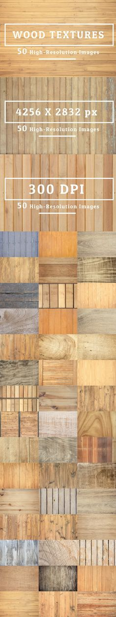 50 Wood Texture Background Set 02. Textures. $12.00