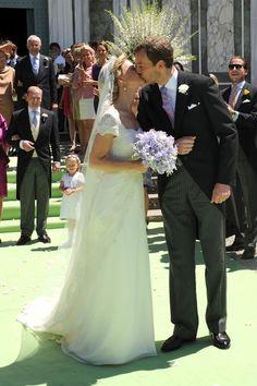 Princess Maria Carolina of Bourbon-Parma married Albert Brenninkmeijer