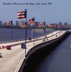 Puente Teodoro Moscoso. San Juan, PR Puerto Rican Dishes, Puerto Rican Recipes, Puerto Rico, Food Places, Drinks, Desserts, Beautiful, Blessed, San Juan