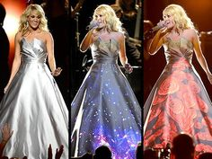 Carrie Underwood's Glowing Grammys Dress: All the Scoop