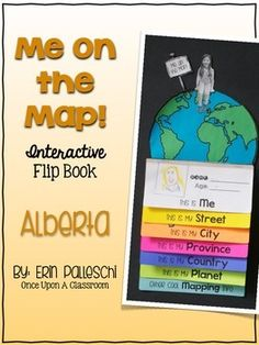 Me on the Map - O Canada! Communities Unit, School Plan, O Canada, Interactive Map, Grade 1, Social Studies, Kids Learning, Are You The One, Homeschool