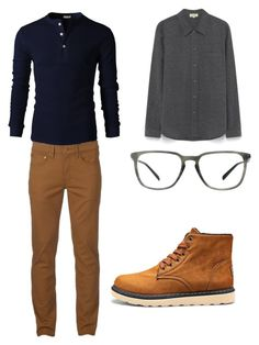 """""""Thanksgiving Outfit"""" by matuskyrie on Polyvore featuring Urban Pipeline, Prada, men's fashion y menswear"""