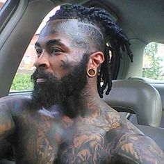 Black Men's Hairstyles That will keep you looking Fresh - Goteo Black Men Haircuts, Black Men Hairstyles, Afro Hairstyles, Hairstyles With Bangs, Men's Haircuts, Dreads Styles, Curly Hair Styles, Natural Hair Styles, Curly Long Bangs