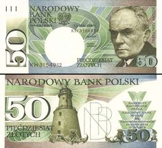 50 złotych polskich - non-released Bank Account Balance, Money Notes, Money Stacks, Gold Money, Old Coins, Seals, Money, Coins, Report Cards