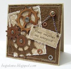 Wytwory Hogaty - love the chain message holder