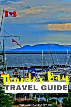 Thunder Bay in northern Ontario is one of Canada's top outdoor destinations. But there are so many things to do in Thunder Bay for every traveler. In this Thunder Bay guide you'll find what to do for art lovers, foodies, nature addicts and so much more. Alberta Canada, Canadian Travel, Canadian Rockies, Canada Vancouver, Ontario Travel, Canada Destinations, Visit Canada, Travel Guides, Travel Advice