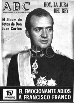 Rey Juan Carlos I - ascendió al trono en noviembre de 1975
