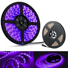 Waterproof Ultraviolet UV Black Light Strip 3528 Flexible for sale online Black Light Led, Black Lights, Hippie Bedroom Decor, Neon Birthday, Pc Gaming Setup, Hotel Party, Blacklight Party, Hippy Room, White String Lights