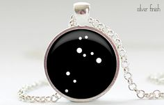 Leo Constellation Pendant Zodiac Jewelry in Your by FrenchHoney, $14.50