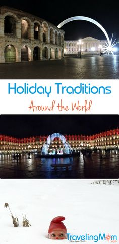 Traveling or not, ready to learn about Christmas and holiday traditions around the world? You might love one or two and make them part of your own family celebration.