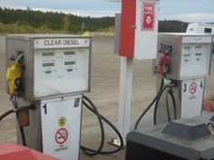 Fuel = Liquid gold on the AL Can Highway.  Pink Mt, BC Alaska Highway, Liquid Gold, Landline Phone, Places Ive Been, Pink, Pink Hair, Roses