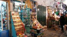 Tradicional loja de perfumes em Tunis