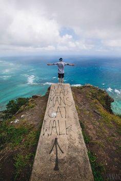 Koolau Summit in Waimanalo, Hawaii