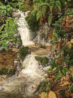 Una Woodruff - The waterfall
