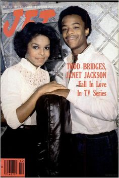 Janet Jackson And Todd Bridges In Front Of Jet Magazine Cover 1981 Photo: Janet. This Photo was uploaded by Jet Magazine, Black Magazine, Janet Jackson, Ebony Magazine Cover, Magazine Covers, Todd Bridges, Black Celebrities, Celebs, Black Actors