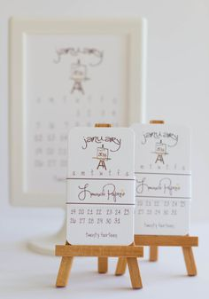 Printable 4x6 Doodle Calendar 2014 Desk by lemonadepaperie on Etsy