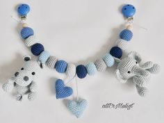 MADE TO ORDER Altermuligt's Animal Stroller Chain