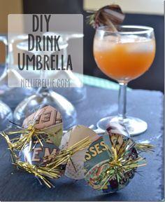 Make It: drink umbrella