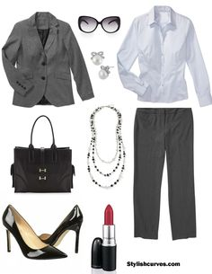 Olivia Pope inspired plus size look 4