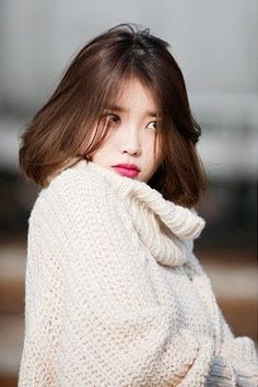 That look 👀 Iu Fashion, Korean Fashion, Korean Beauty, Asian Beauty, Pelo Ulzzang, Asian Woman, Asian Girl, Exo And Red Velvet, Korean Actresses