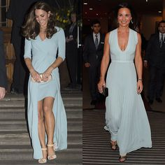 Kate Middleton and Pippa Middleton —two sisters who look sexy in pastels!