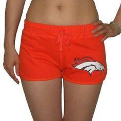 Victoria's Secret PINK Women's NFL Denver Broncos Sports Shorts