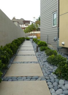 Good idea for the side yard