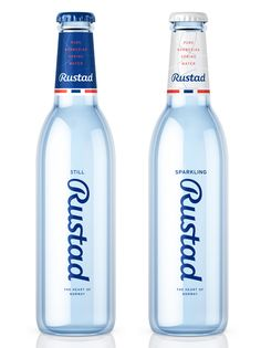 Rustad #water #packaging by Strømme Throndsen Design, Norway #agua