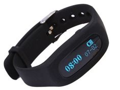 Fitness Tracker Activity Tracker Pedometer Smart Bracelet Wristband Watch black -- Click image for more details.