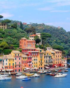 Portofino, Italy.  I wanna go!