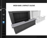 Bar Mesh 1 impact Full perm UV/AO