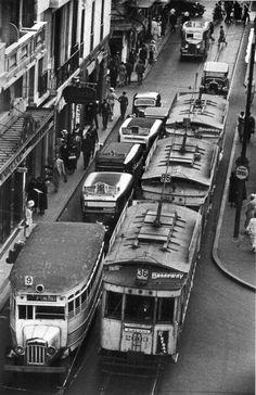 Description Horacio Coppola - Buenos Aires 1936 - Sarmiento y Diagonal ...
