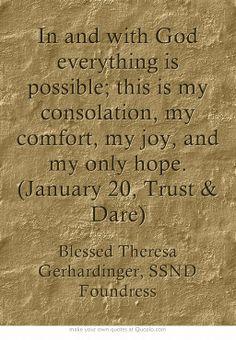 January 20, Trust & Dare