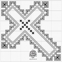 Hardangersøm – Vevstua Bull-Sveen Types Of Embroidery, Learn Embroidery, Hand Embroidery Stitches, Embroidery Techniques, Embroidery Patterns, Cross Stitch Patterns, Cross Stitches, Loom Patterns, Blackwork
